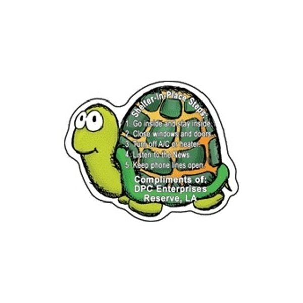 Promotional Turtle - Die Cut Magnets