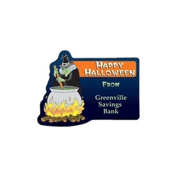 Promotional Witch - Die Cut Magnets