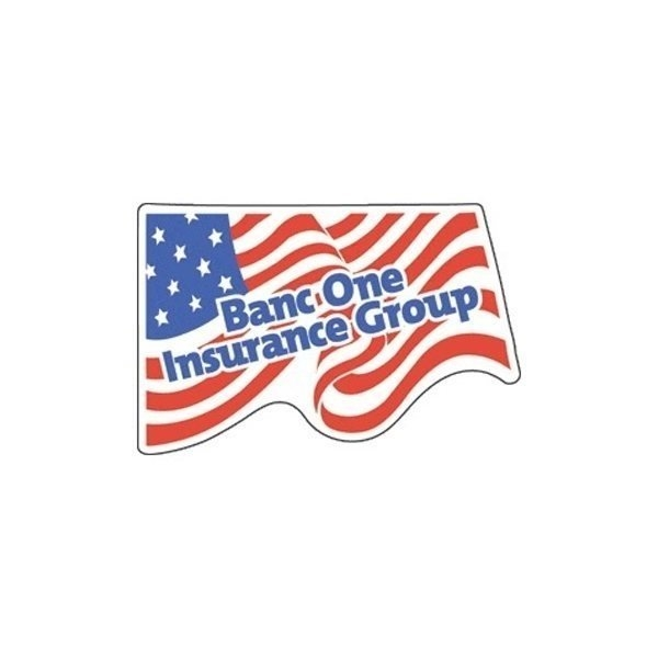 Promotional Flag - Die Cut Magnets