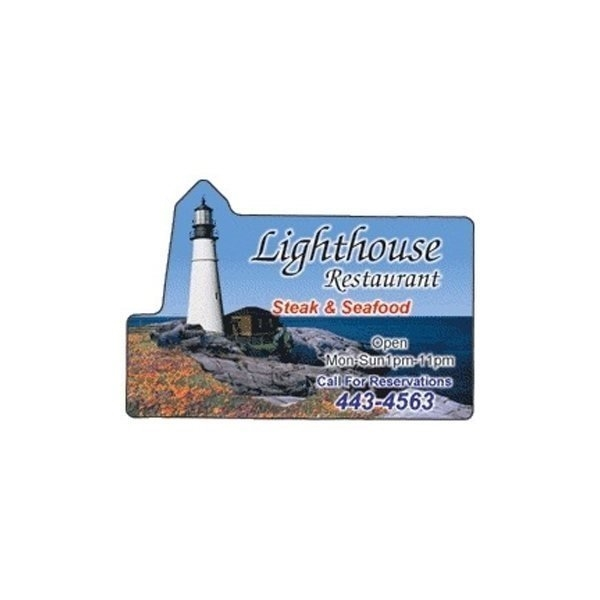 Promotional Lighthouse - Die Cut Magnets