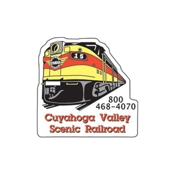 Promotional Train - Die Cut Magnets