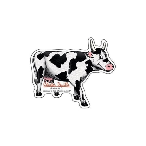 Promotional Cow - Die Cut Magnets