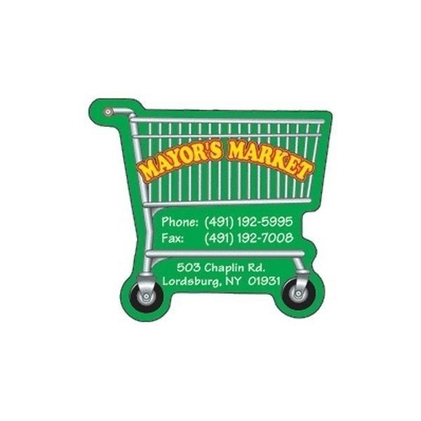 Promotional Shopping Cart - Die Cut Magnets