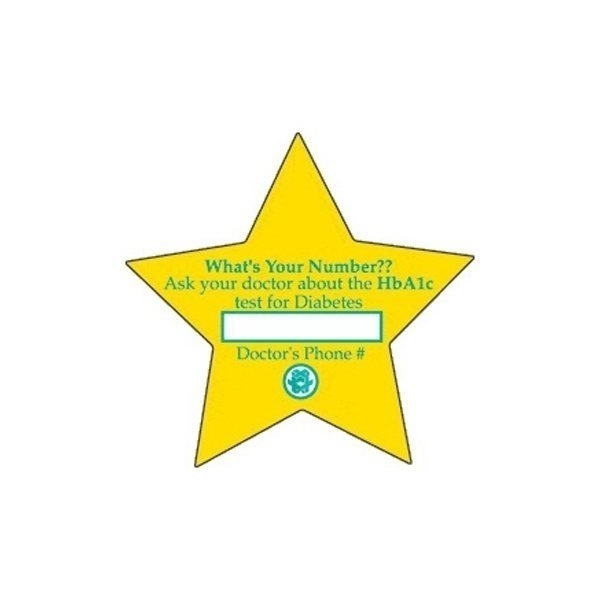 Promotional Star (large) - Die Cut Magnets