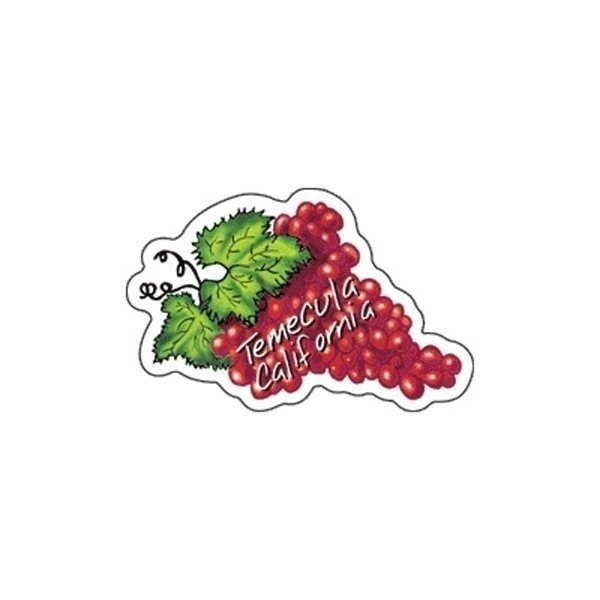 Promotional Grapes - Die Cut Magnets