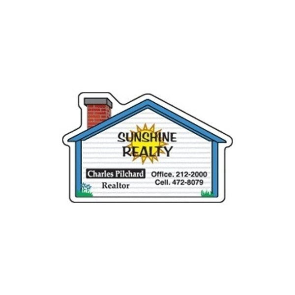 Promotional House (small) - Die Cut Magnets