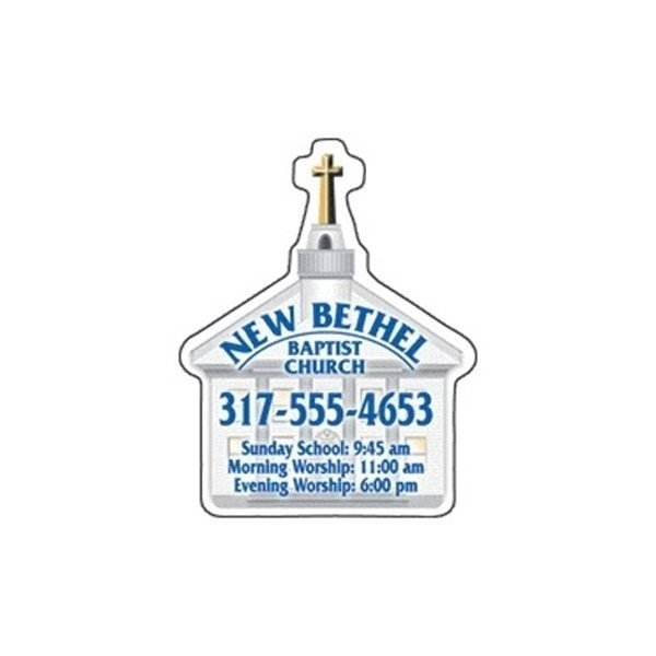 Promotional Church - Die Cut Magnets