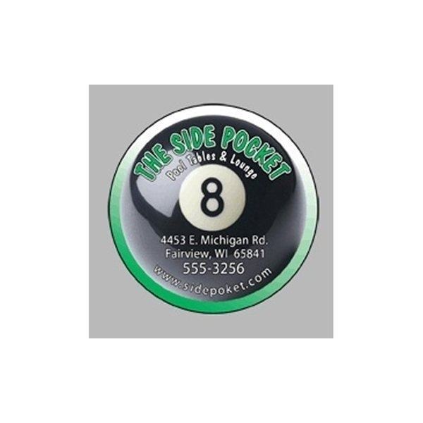 Promotional Eightball - Die Cut Magnets