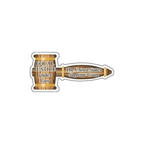 Promotional Gavel - Die Cut Magnets