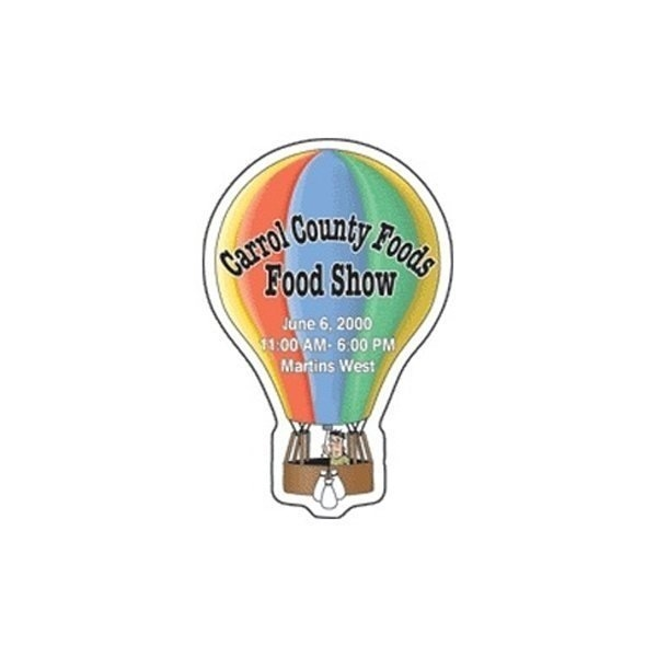 Promotional Hot Air Balloon - Die Cut Magnets