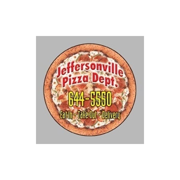 Promotional Pizza - Die Cut Magnets