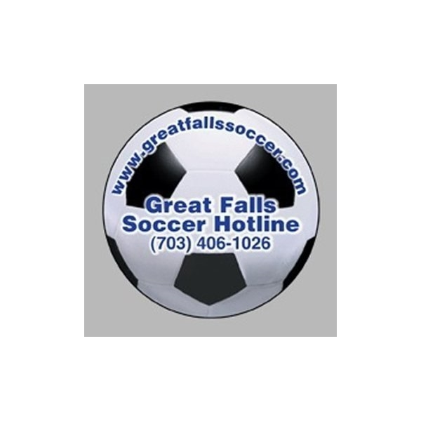 Promotional Soccer Ball - Die Cut Magnets