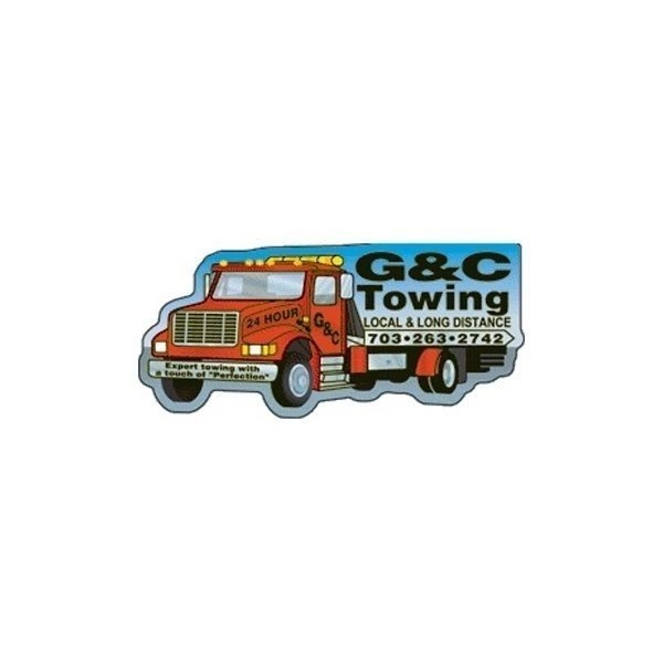 Promotional Towtruck - Die Cut Magnets