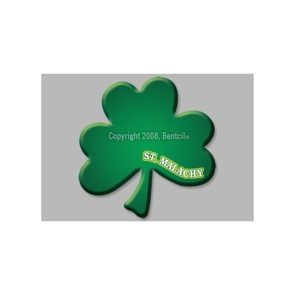 Promotional Shamrock / Clover - Exterior - Auto Die Cut Magnets