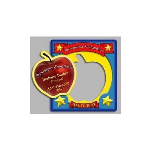 Promotional Apple - Picture Frame Magnets