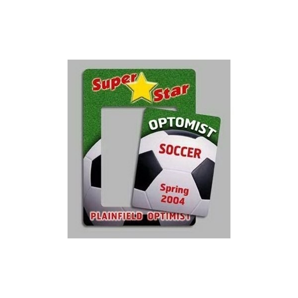 Soccer - Picture Frame Magnets - Customized Flexible Magnets