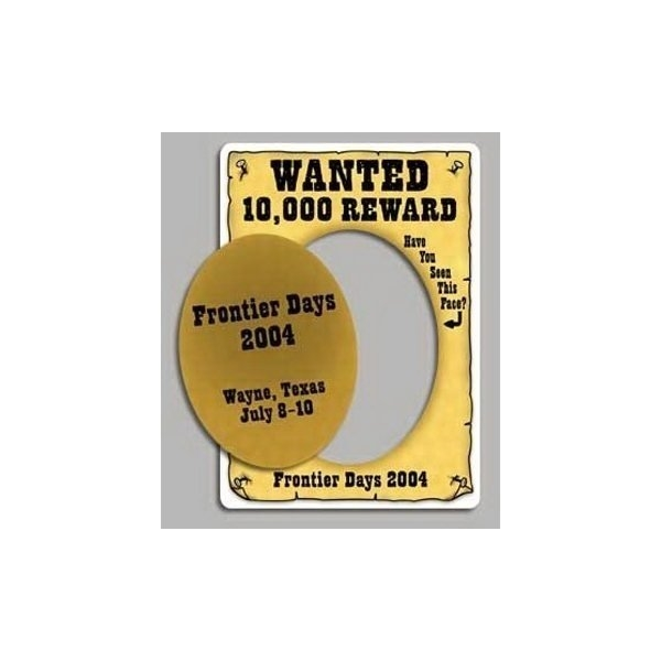 Promotional Wanted - Picture Frame Magnets