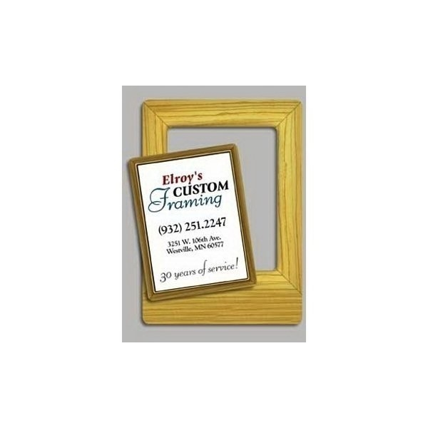 Promotional Wood Frame - Picture Frame Magnets