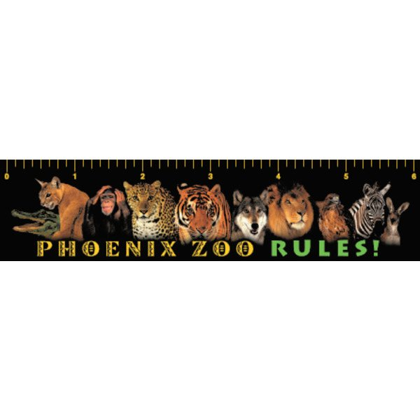 Promotional Zoo - Ruler Magnets