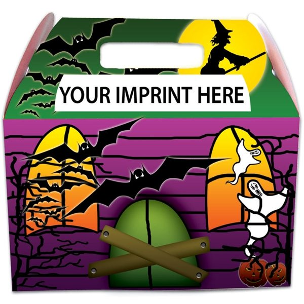Promotional Haunted House Box - Paper Products