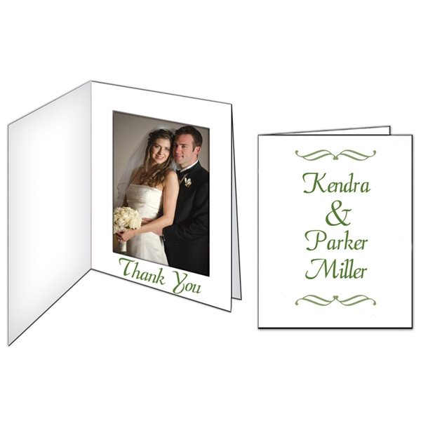 Promotional Photo Frame / Thank You Card - Paper Products