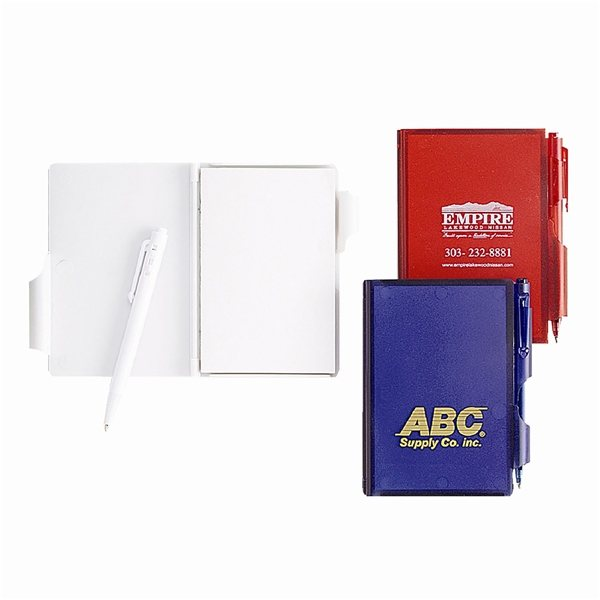 Promotional Memo Pad With Pen Lock