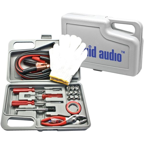 31 Pc Roadside Emergency Kit