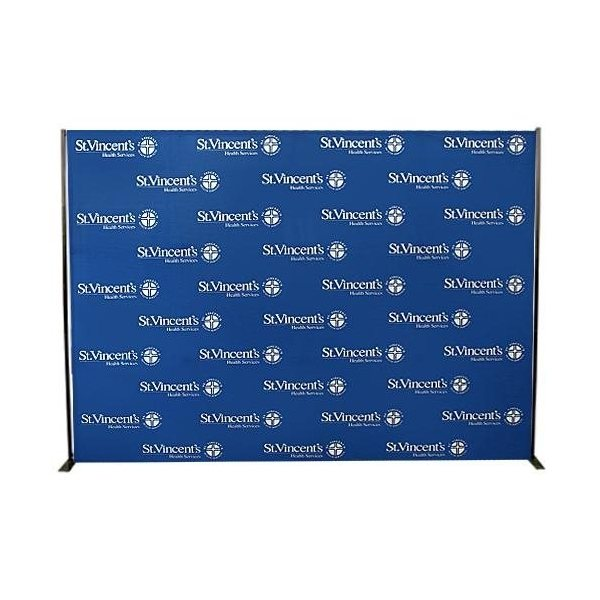 Custom Media Backdrop Promotional Flags Amp Banners