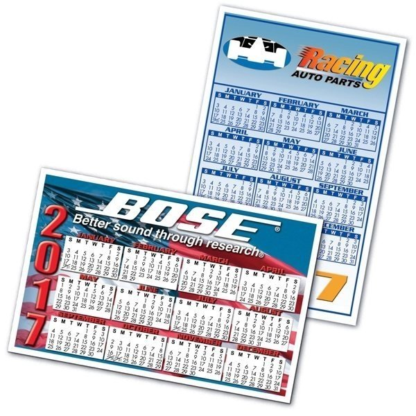 USA Large Rectangle Calendar Magnet