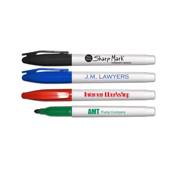 Promotional Sharp Mark(R) - Fine Tip Permanent Ink Markers