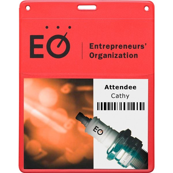 Promotional Conventional Badge Holder