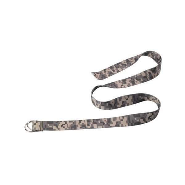 Promotional 1 1/4 Dye - Sublimated Belt with Double D - Ring Buckle