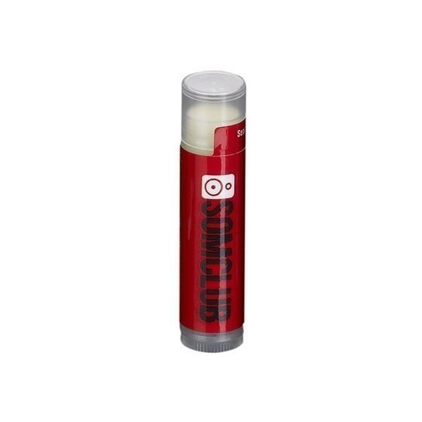 Promotional SPF 30 Soy Based Lip Balm in Clear Tube White Label