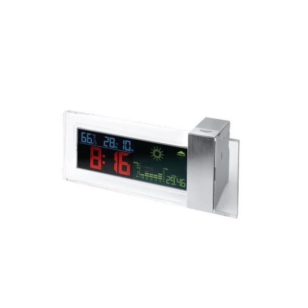 Promotional Desktop Clock Weather Forecast Station