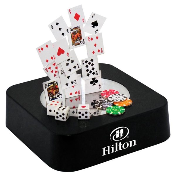 Promotional Poker Magnetic Sculpture Block