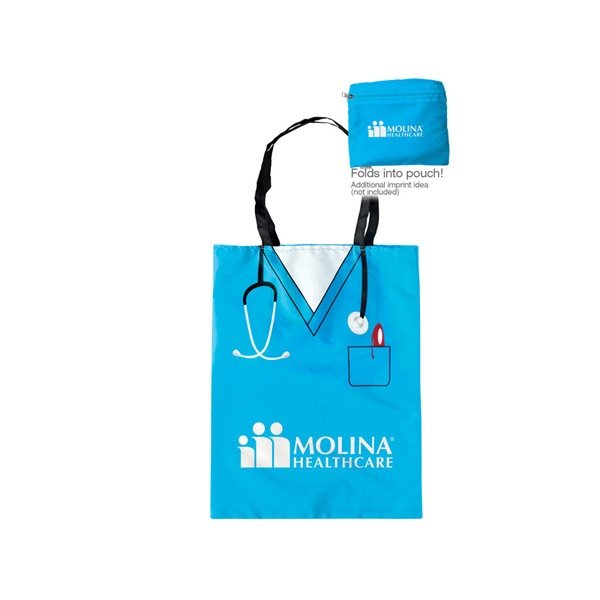 Promotional Convertible Scrubs Tote
