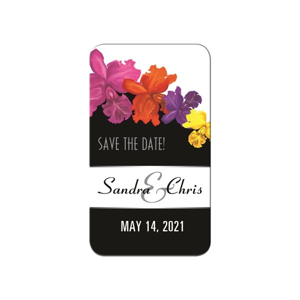 Promotional Save the Date Magnet Rounded