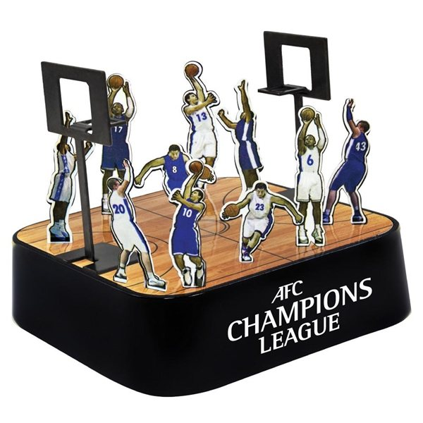 Promotional Colored Basketball Magnetic Sculpture Block