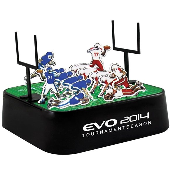 Promotional Colored Football Magnetic Sculpture Block