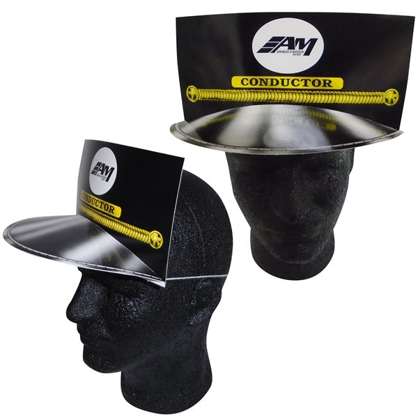 Promotional Conductor Hat With Elastic Band - Paper Products