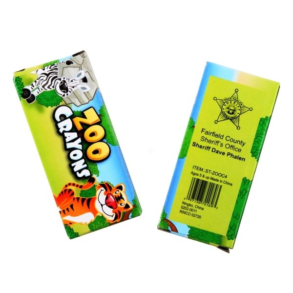Promotional Animal Crayons
