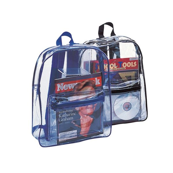Promotional PVC Clear Backpack