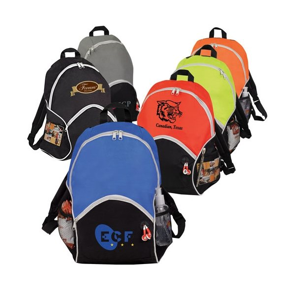 Promotional Polyester Highlight Backpack