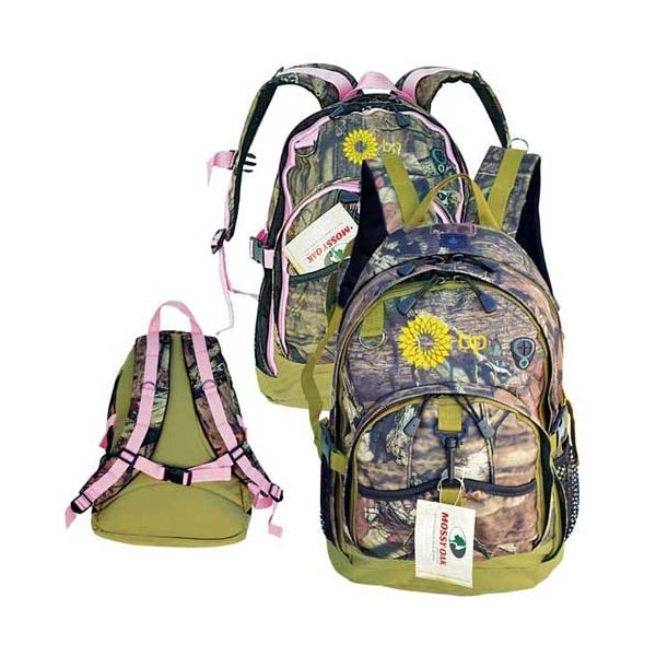 Promotional Mossy Oak(R) Camo Versatile Outdoor Backpack