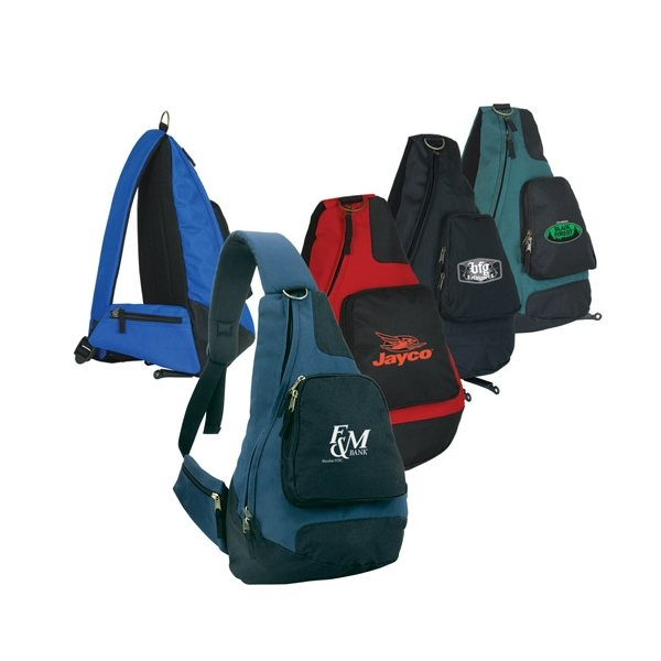 Promotional Polyester Sling Backpack