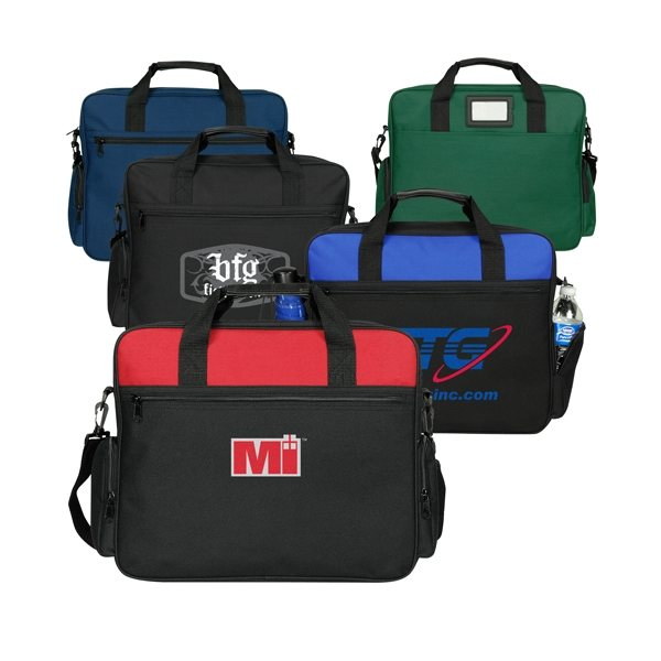 Promotional Spacious Poly Briefcase