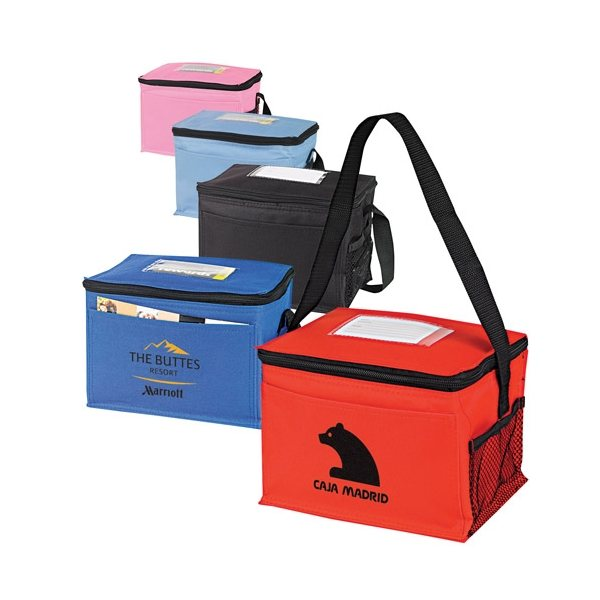 Promotional Classic 6- Pack Cooler with ID Holder