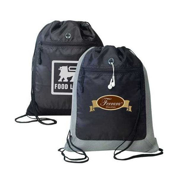 Promotional Contemporary Drawstring Shoulder Pack