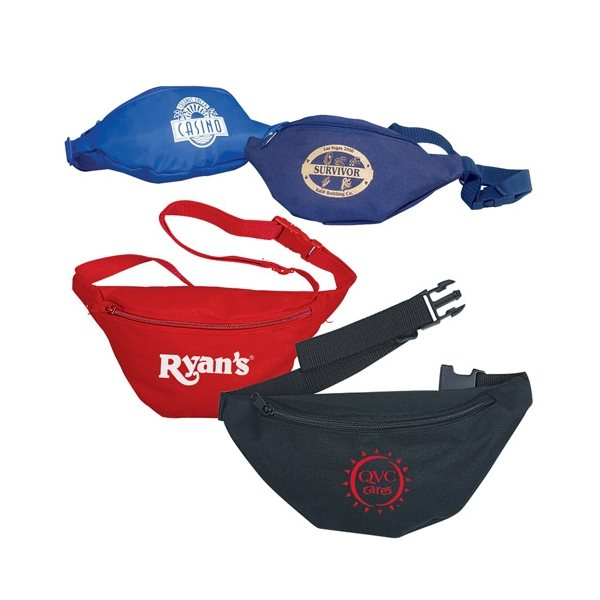 Promotional Vinyl Back Fanny Pack