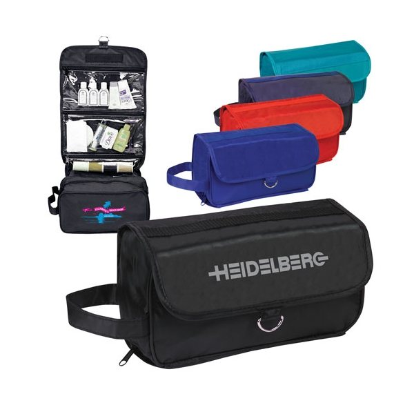 Promotional Foldable Hanging Toiletry Bag